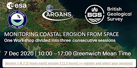 Monitoring Coastal Erosion from Space tickets