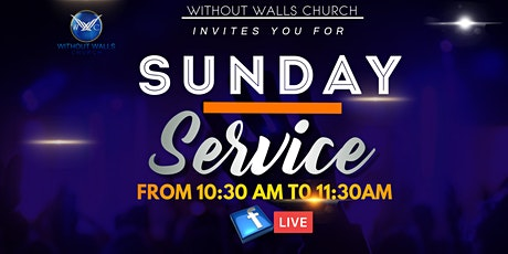 Without Walls Sunday Service 10/25/20 tickets