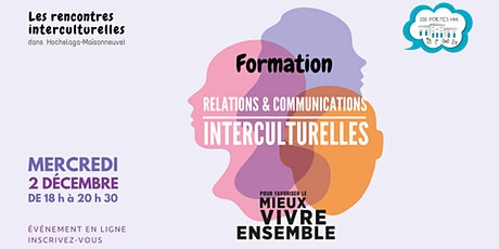 Formation en relations et communications interculturelles billets