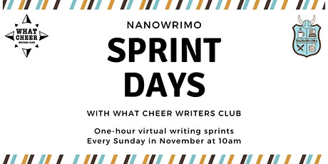 NaNoWriMo Sprint Days tickets