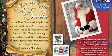 Meet & Greet with Santa! tickets
