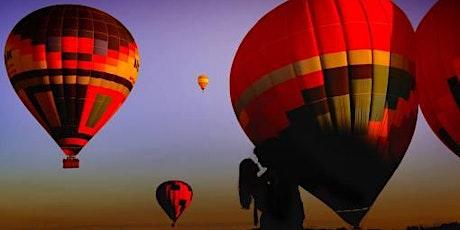 Voo de balão em Araçoiaba da Serra com café da manhã e espumante –sab e dom ingressos