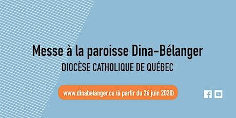 Messe des familles au sous-sol - Dina-Bélanger - Dimanche 25 octobre 2020 billets