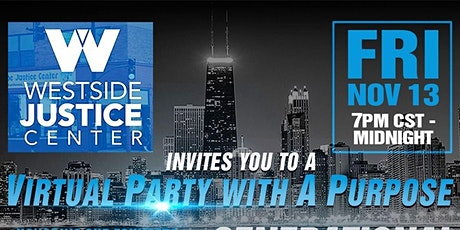 Party with a Purpose! A Westside Justice Center Fundraiser Tickets