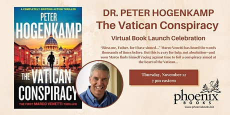 Peter Hogenkamp:  The Vatican Conspiracy tickets