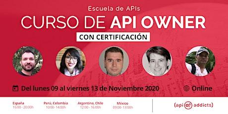 Curso de API OWNER entradas