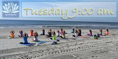 BEACH YOGA, TUES., Nov. 3rd  @ 9:00 am w/Social Distancing TIME CHANGE! tickets