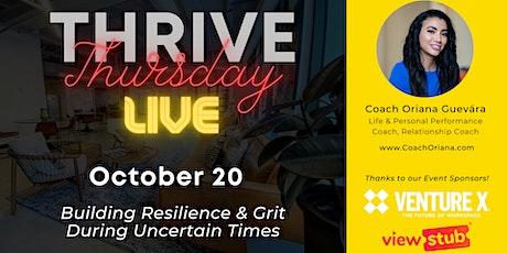 Thrive Thursday LIVE @ Venture X Downtown Orlando tickets
