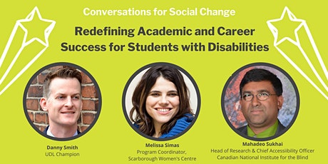 Redefining Academic and Career Success for Students with Disabilities tickets