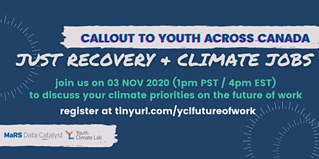 Open Studio: Just Recovery & Climate Jobs for Youth tickets