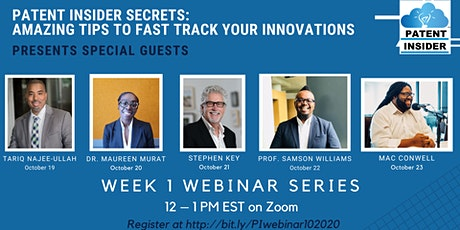PATENT INSIDER SECRETS: Amazing Tips to Fast Track Your Innovations tickets