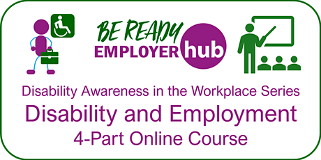 Disability and Employment: 4-part Series (Ref OMW19) tickets