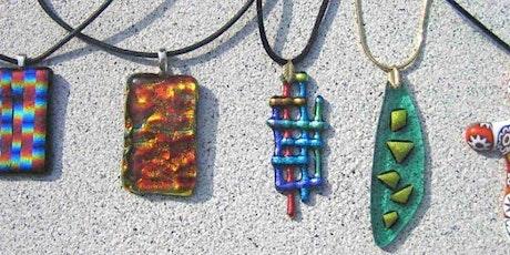 Festive fused glass pendants workshop, Sunderland tickets