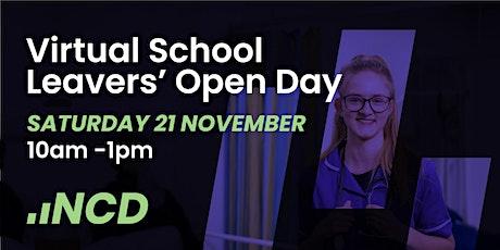 Virtual School Leavers' Open Day tickets