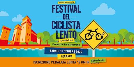 5 km in 100 minuti in streaming // Festival del Ciclista Lento 2020 biglietti