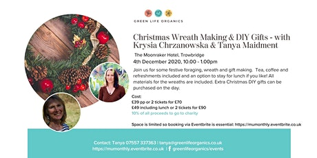 Christmas Wreath Making & DIY Gifts tickets