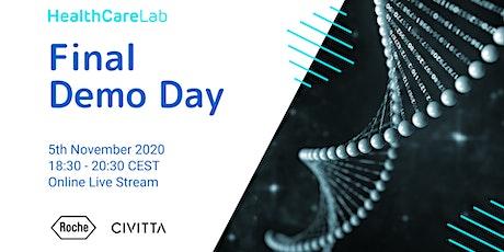 HealthCare Lab Demo Day - Online live stream tickets