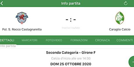 Polisportiva San Rocco Castagnaretta 85 - Caraglio Calcio biglietti