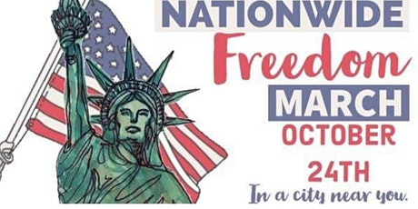 Copy of Nationwide Freedom March tickets