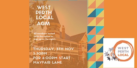 West Perth Local AGM tickets