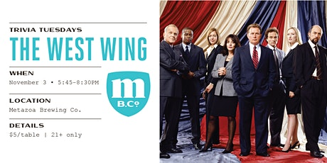 The West Wing Trivia tickets