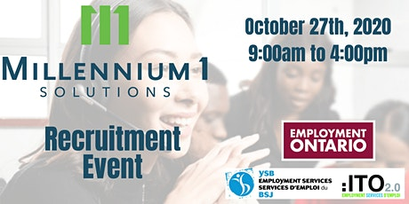 Millennium 1 Solutions Job Fair tickets