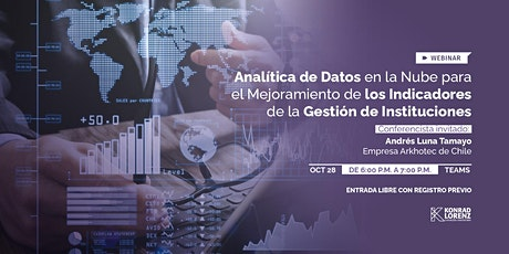 Webinar: Analítica de Datos en la Nube tickets
