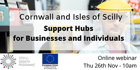 Cornwall and IOS  One Stop Shop  -  Supporting our business and community tickets