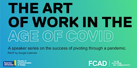 The Art of Work in the Age of COVID ft. Christa Tazzeo Morson tickets