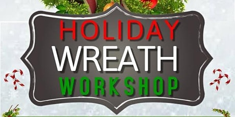 Christmas Candy Cane Wreath Making Workshop tickets