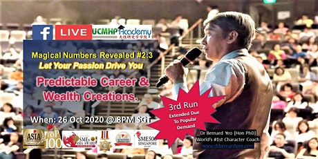 FBLive: Let Your Passion Drive You: Predictable Career and Wealth Creations tickets