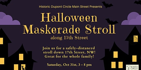 Halloween Maskerade Stroll along 17th Street tickets