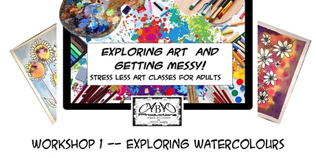 Exploring Art Workshop 1 - Exploring Watercolour Techniques tickets