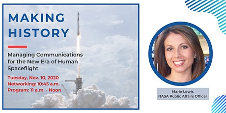 Managing Communications for the New Era of Human Spaceflight tickets