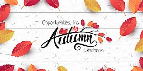 Autumn Luncheon tickets