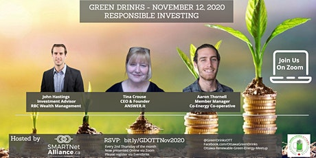 Virtual Green Drinks November - Responsible Investing tickets