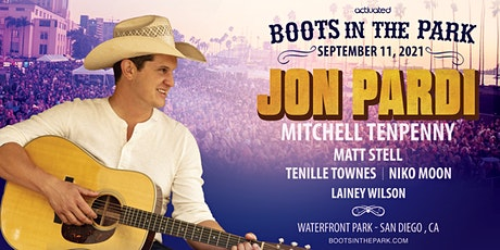 Boots in the Park w/ Jon Pardi, Mitchell Tenpenny, Matt Stell & More tickets