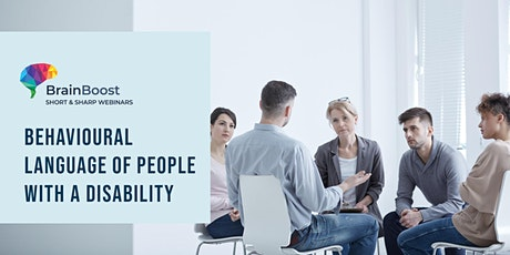 BrainBoost:  Behavioural Language of People with a Disability tickets