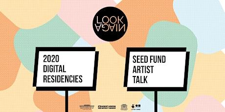 Seed Fund Artists' Talk tickets