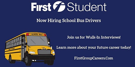 Join our First Student Urbana, IL Location for Walk-In Interviews! tickets