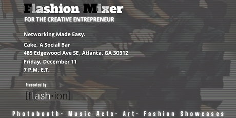 Flashion Mixer for the Creative Entrepreneur tickets