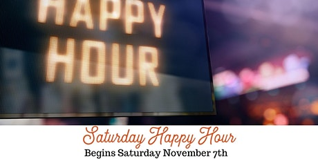 Saturday Night Happy Hour tickets