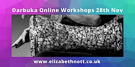 Darbuka Online Workshops 28th Nov tickets