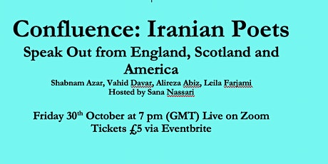 Exiled Writers Ink Presents  Confluence: Iranian Poets  Speak Out tickets