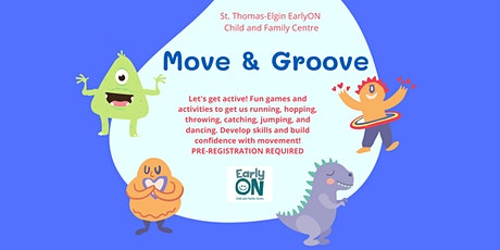 EarlyON Move & Groove (November 26 - Sons of Scotland Park, Dutton) tickets