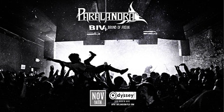 Paralandra w/ B.I.V + Brand of Freak @ Odyssey Lounge tickets