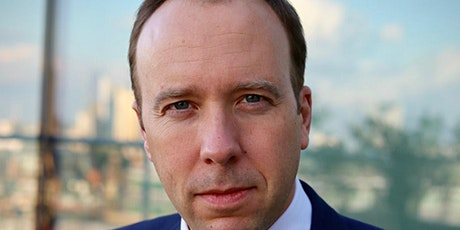 Q&A with Rt Hon Matt Hancock MP – Secretary of State for Health and Social tickets