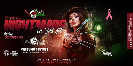 4th Annual: Nightmare on 3rd St. with DJ Raj and Friends tickets