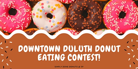 First Annual Downtown Duluth Donut Eating Contest tickets