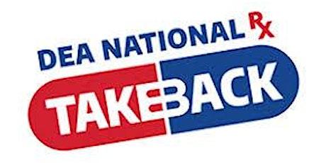 Drug Take Back Day tickets